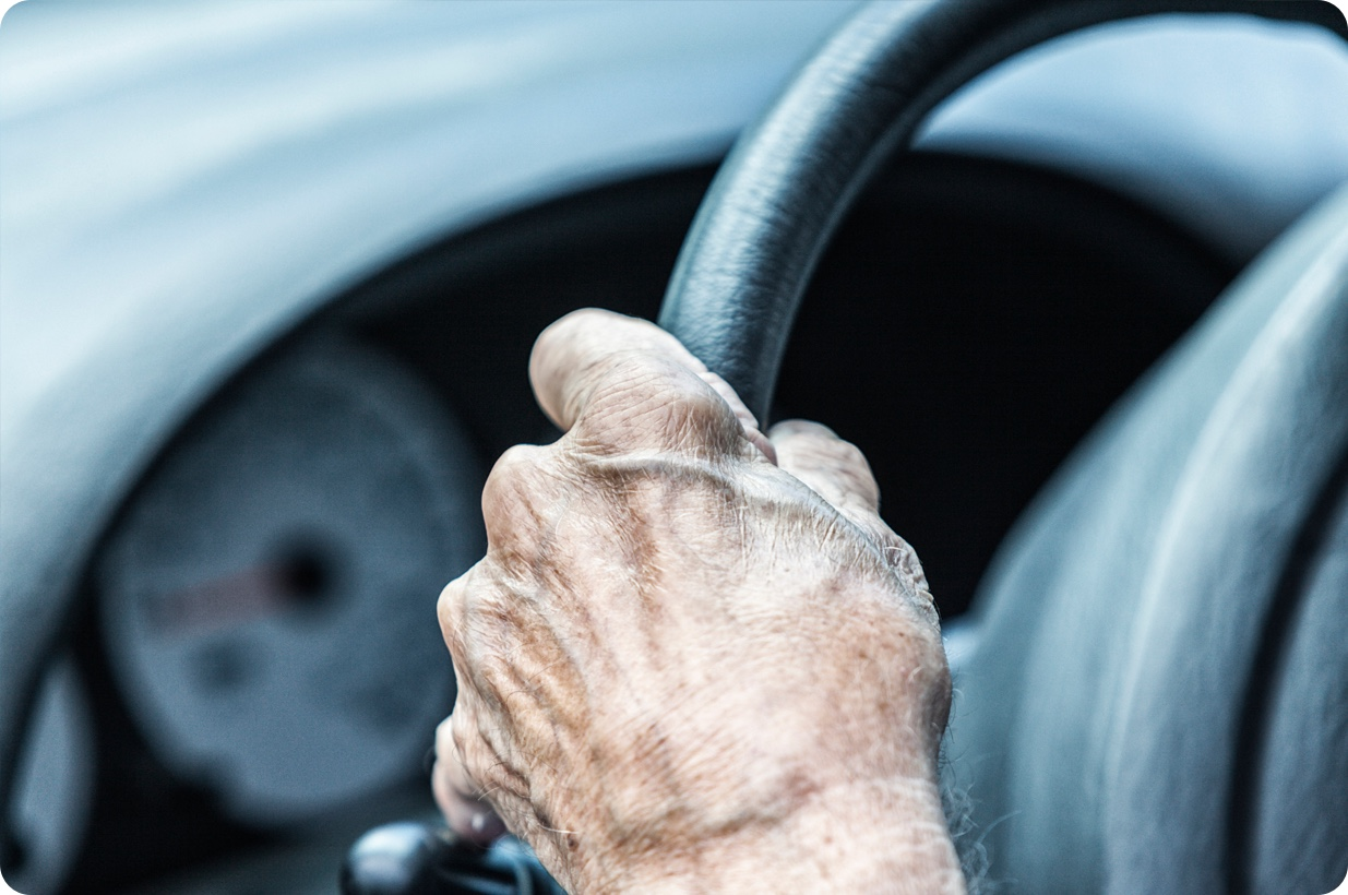 You need to take your driving test again at the age of 70