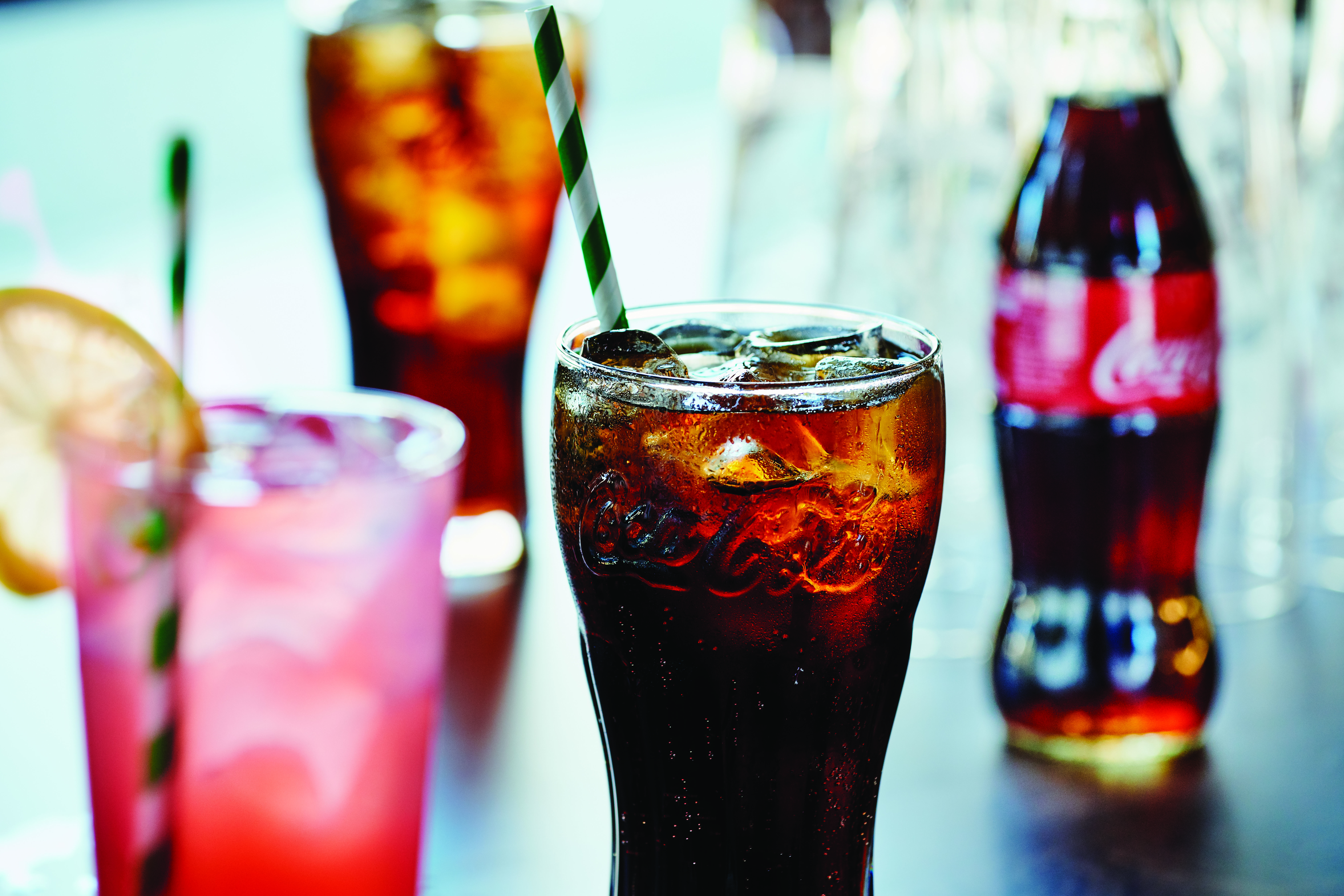 An image of Frankie and Benny's soft drinks.