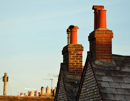 Have your chimney professionally swept