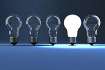 Five light bulbs | Energy | Compare the Market