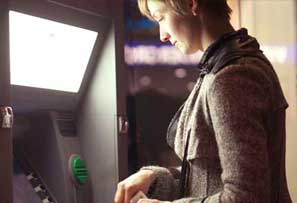 Getting money from ATM