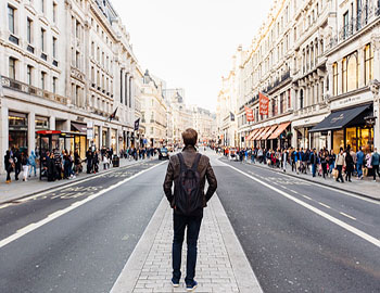 Man walking   Compare the Market