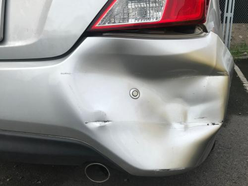 Car crash claim