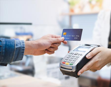 Making a contactless card payment