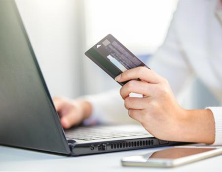 Purchasing with credit cards