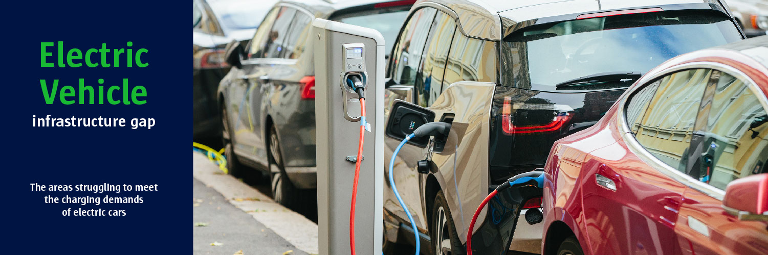 Electric Vehicle Infrastructure Gap   The areas struggling to meet the charging demands of electric cars