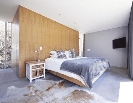 Bedroom which is being rented