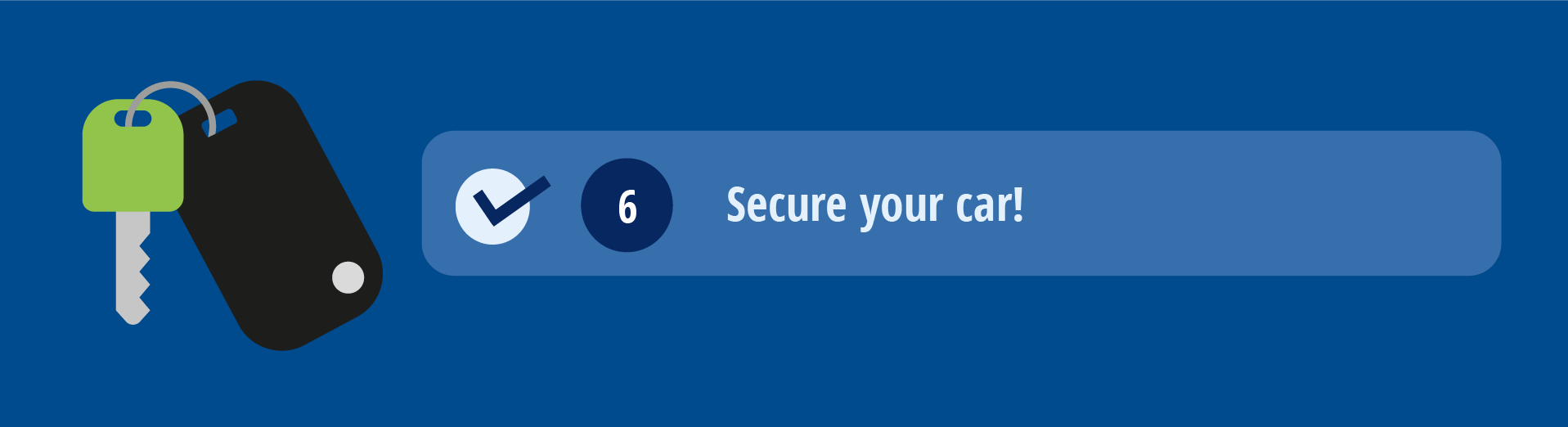 Secure your car!