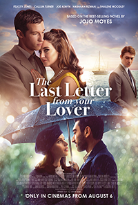The last letter from your lover movie poster