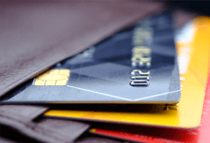 Parts of a credit card