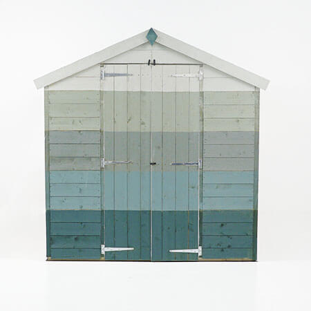 Exterior of a shed