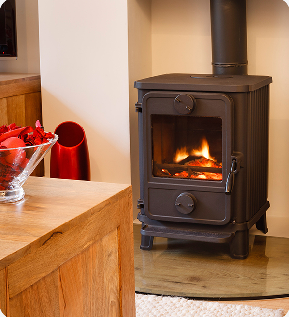 An image of a wood burner | Compare the Market