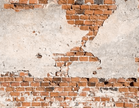 Subsidence in walls