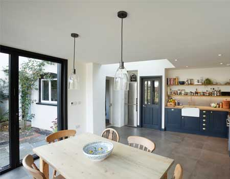 Kitchen in a modern house