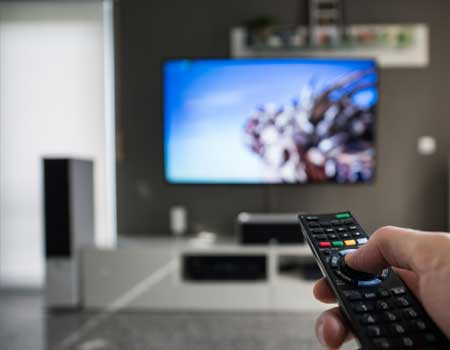 TV Remote changing channels