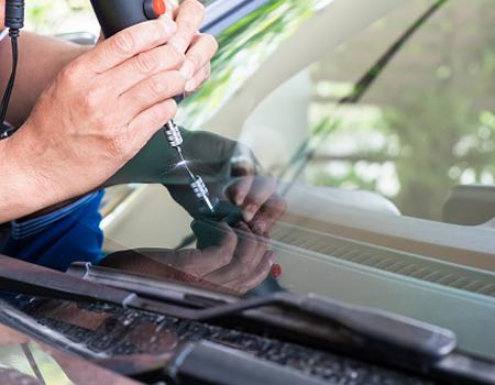 Fixing windscreen on insurance