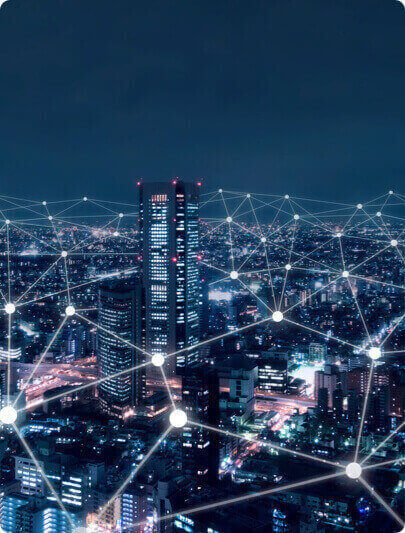 A view of broadband across the city.