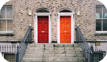 An image of two doors next to each other | Compare the Market