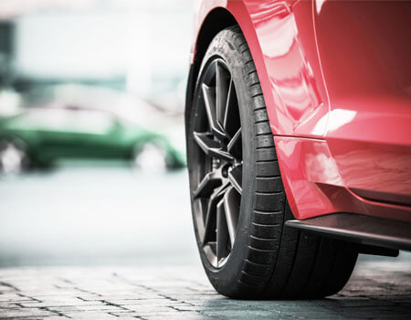 An image of a car tyre.