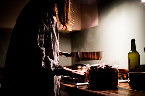 Cooking at night