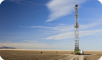 desert with a fracking instrument | Compare the Market