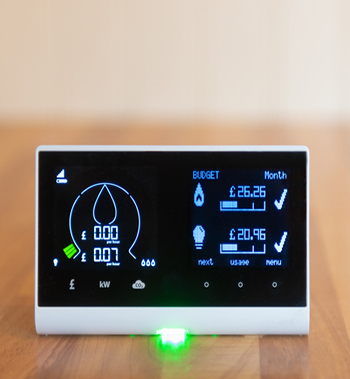 smart energy monitor in home display