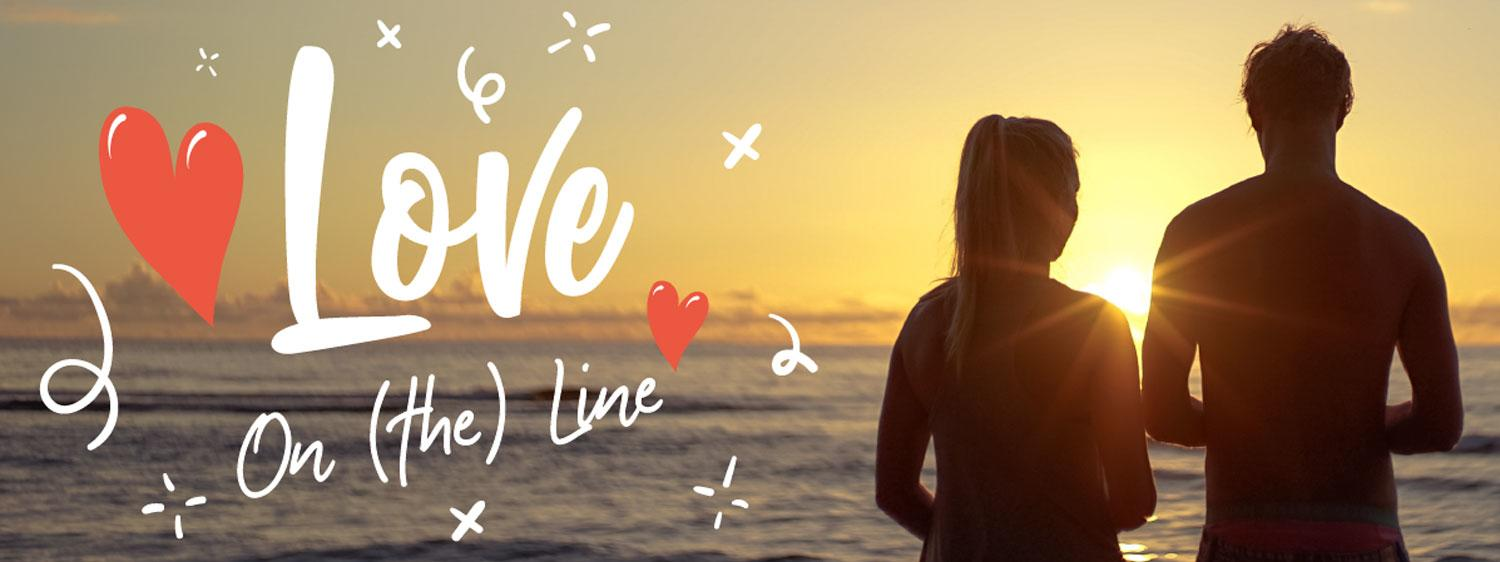 love on the line header